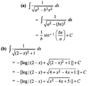 9.3 Class 12 Maths RBSE Integration
