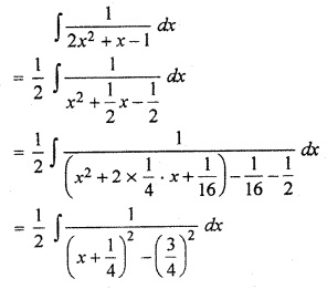 Exercise 9.5 Class 12 Maths RBSE Integration