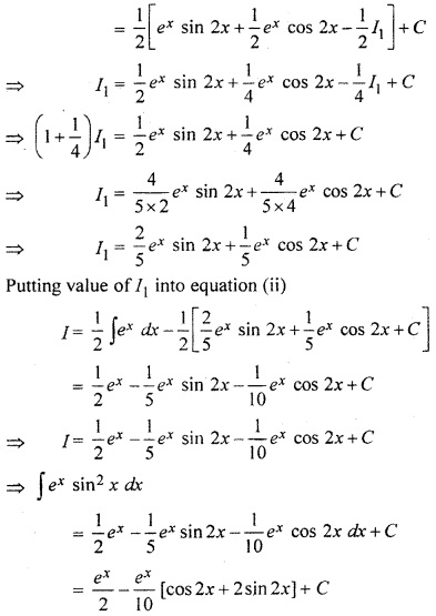RBSE Solution Class 12 Maths Chapter 9
