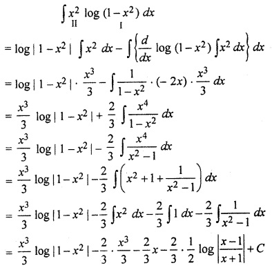 RBSE Solutions 12 Maths Integration Miscellaneous Exercise