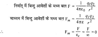 RBSE 12th Physics Chapter 1 In Hindi