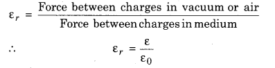 Class 12 Physics RBSE Solutions Electric Field