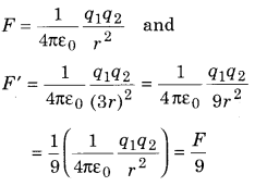 RBSE Class 12 Physics Chapter 1 Solution Electric Field
