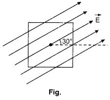 Gauss's Law Class 12 RBSE Solutions