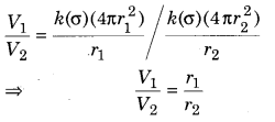 RBSE Solution Physics Class 12 Ch 3 Electric Potential