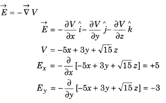 12th Physics RBSE Solutions 3 Electric Potential