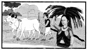 चित्र वर्णन Worksheets In Sanskrit RBSE Class 10