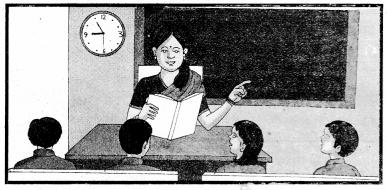 Chitra Dekhkar Vakya Banao In Sanskrit RBSE Class 10