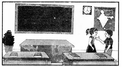 Chitra Varnan Sanskrit Mein RBSE Class 10