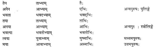 RBSE Class 10 Sanskrit व्याकरणम् वाच्य-परिवर्तनम्