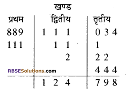 Class 10 Maths RBSE Solution