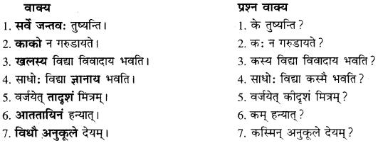 RBSE Solutions For Class 10 Sanskrit