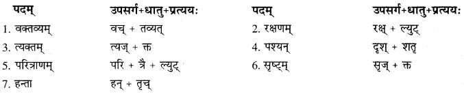 RBSE Solutions For Class 10 Sanskrit Chapter 10