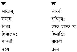 RBSE Solutions for Class 10 Sanskrit स्पन्दन Chapter 3 स्वराष्ट्र-गौरवम्