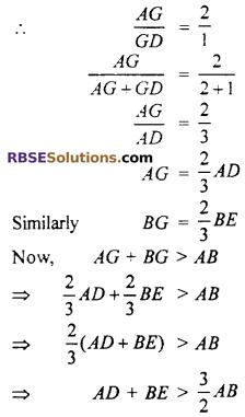 RBSE Class 10th Maths Chapter 10