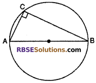 RBSE Solutions For Class 10 Maths Chapter 12.3 Circle