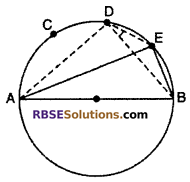 Exercise 12.3 Class 10 RBSE Circle