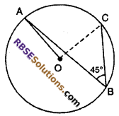 RBSE Solutions For Class 10 Maths Chapter 12 Circle
