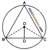 RBSE Class 10 Maths Chapter 12 Circle