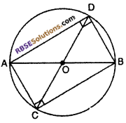 RBSE Class 10 Maths Chapter 12 Exercise 12.3 Circle