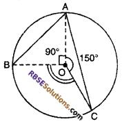 Chapter 12 Class 10 Maths RBSE Circle