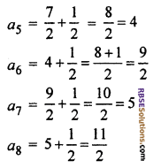 Chapter 5 Class 10 Maths RBSE Arithmetic Progression Ex 5.1