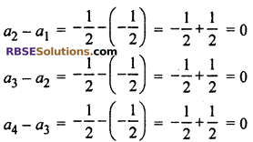 RBSE Solutions For Class 10 Maths ex 5.1 Arithmetic Progression