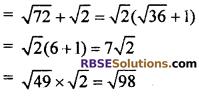 Exercise 5.1 Class 10 RBSE Arithmetic Progression