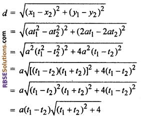 RBSE Class 10 Maths Ex 9.1 Chapter 9 Co-ordinate Geometry
