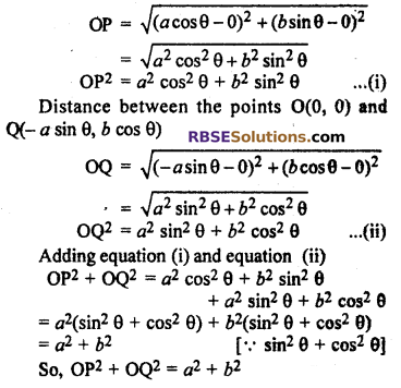 Ex 9.1 class 10 RBSE Maths Chapter 9 Co-ordinate Geometry