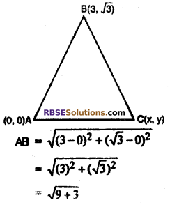 Class 10 Maths Chapter 9 Exercise 9.1 Solutions Co-ordinate Geometry