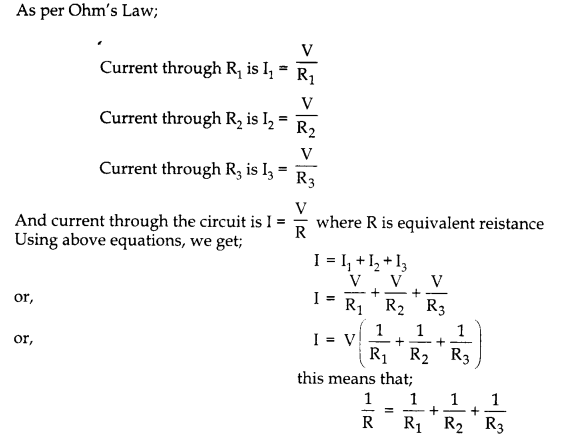 Electricity Class 10 Questions And Answers