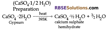 RBSE Solution Class 10 Science Ch 5 Chemistry In Everyday Life