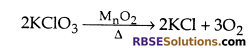 RBSE Class 10 Science Chapter 6 Question Answer Chemical Reaction And Catalyst