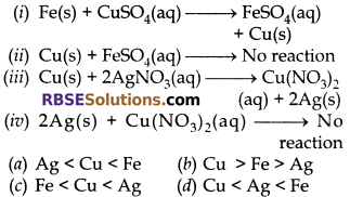 RBSE Class 10 Science Chapter 6 Notes Chemical Reaction And Catalyst