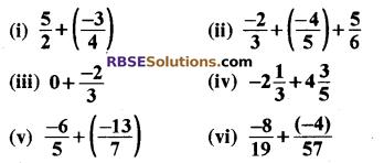 कक्षा 8 प्रश्नावली 1.1 के सवाल RBSE Solutions