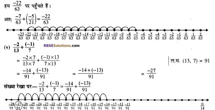 कक्षा 8 गणित प्रश्नावली 1.1 RBSE Solutions