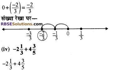 परिमेय संख्या Class 8 RBSE Solutions