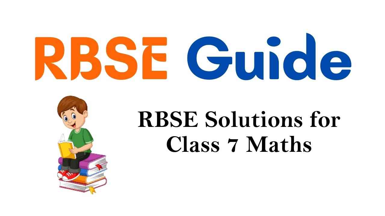RBSE Solutions for Class 7 Maths