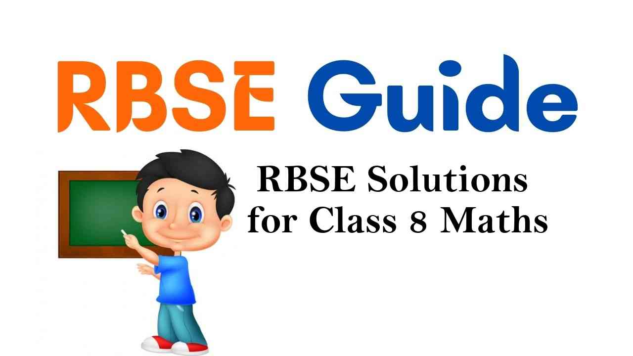RBSE Solutions for Class 8 Maths